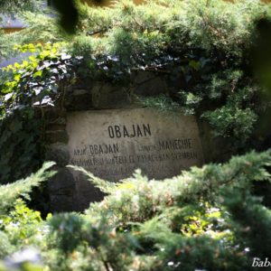 O'Bajan emléktáblája